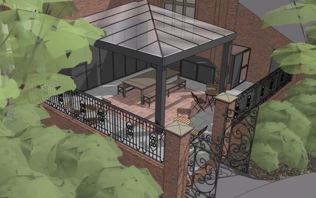 Fearon Hall Gateway Courtyard Project