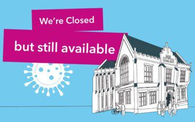 Lockdown closure at the Hall