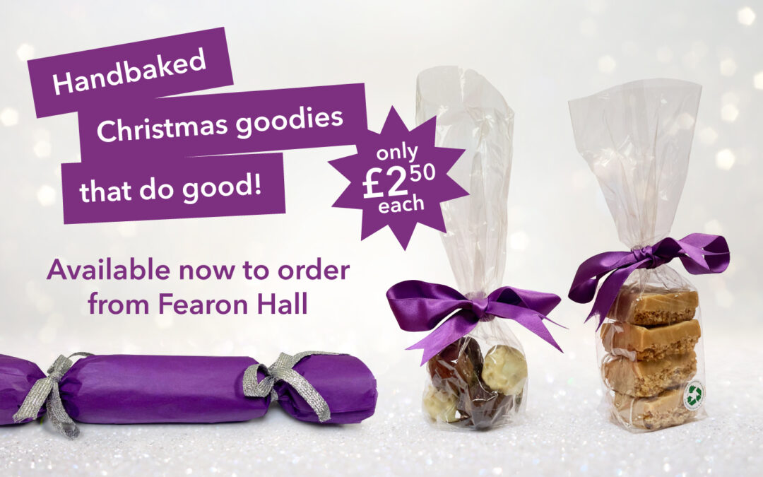 Handbaked Christmas goodies, that do good!