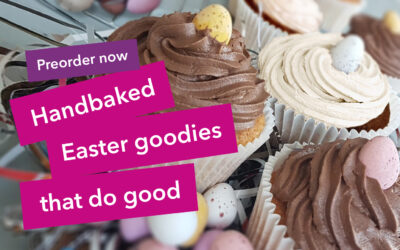 Handbaked Easter goodies that do good!