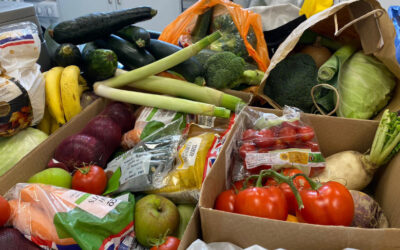 Eco Harvest Festival donations deliver delicious benefits for Charnwood Food Poverty Group